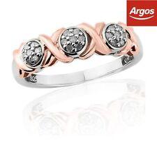 Band Rose Gold I3 Fine Diamond Rings