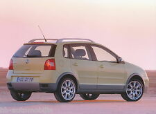 VW Polo Fun Originales Pressefoto 9/03 2003 original press photo 24x17,8 cm  Nr7