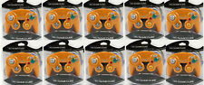 10 Lot Orange Spice Controller Compatible for Gamecube