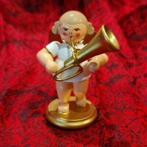 Miniatur Engel w/g Tuba 31 351 Christian Ulbricht