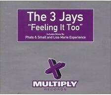 "The 3 Jays.""Feeling It Too""CD.NEW.Last Of Stock!"