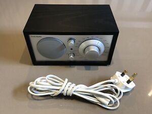 TIVOLI AUDIO Model One by Henry Klose. AM/FM Radio - black and silver