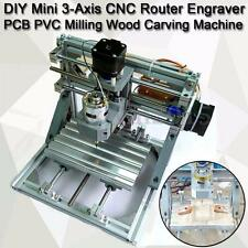 3 AXIS DIY CNC ROUTER MILL WOOD ENGRAVER USB ENGRAVING MACHINE PCB PVC MILLING