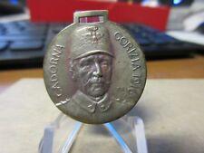 1916  WW1 Italy General Luigi Cadorina / Battle at Corizia Fob or badge 29mm