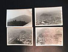 4 Luftaufnahmen Wk2 Wien und Wiener Wald