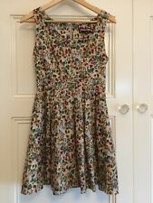 Princess Highway Size 10 Vintage Retro Floral Tea Dress Excellent Condition