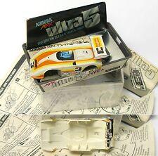 1977 Aurora AFX SpeedSteer Ultra5 SHADOW CAN-AM BODY +CLAMSHELL BOX UNUSED #3007