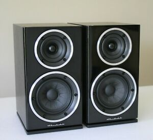 Wharfedale Diamond 220 Speakers - Blackwood Finish, Boxed, Immaculate