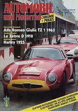 Automobil Motorrad Chronik 7/84 1984 Aston Martin DB2 DKW Transporter Floride