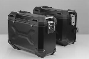 Seitenkoffer TRAX ADV, Aluminium, schwarz, SW-Motech, TOP NEU!!