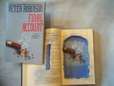 HOLLOW BOOK SAFE, BOOK SAFE, UNIQUE GIFT, Final Account by Peter Robinson