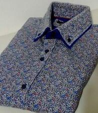 Guide London Men's Size L Floral Shirt
