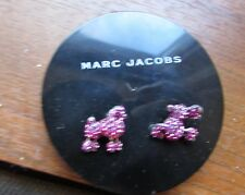 "Marc Jacobs ""Resort 2016"" Pink Mini Poodle Stud Earrings--CUTE!!!!!"