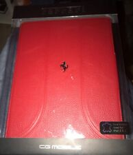 Ferrari iPad 2 & 3  Case Red NEW