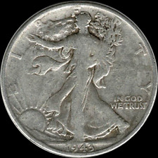 A 1943 P Walking Liberty Half Dollar 90% SILVER US Mint (Exact Coin Shown) Q93