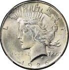 1925 Peace Silver Dollar Brilliant Uncirculated - BU