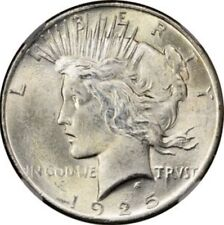 1925 Peace Silver Dollar Brilliant Uncirculated - BU