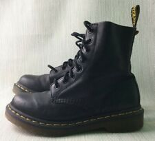 Doctor Martens DM's Size 4 Pascal Soft Leather Black Used Condtion No Box W935