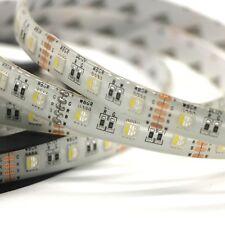 5M 5050 Sanan LED RGBW 4 in 1 12V DC RGB + Cool White 6500K Strip Only