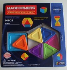 NEW Magformers Windows Solid - 14 Piece