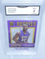 2014-15 Panini Prestige Rookies Julius Randle Rookie Card #13 GMA Graded Mint 9