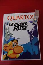 JEUX ASTERIX + PIN'S. QUARTO, LE GRAND FOSSE. ED. ATLAS. **NEUF**
