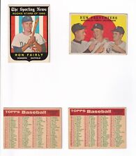 **1959 Topps #48 Baltimore Orioles CL BV$25! No creases, Slightly soft corners**