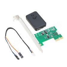 Desktop 2.4G Wireless Switch Turn On/Off Computer Remote Control PCI-E