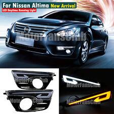 New LED Daytime Running Light Fog Lamp DRL For Nissan Altima Teana 2013 2014 #DG