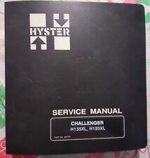 Hyster Challenger Forklist Service Manual h135xl h155xl