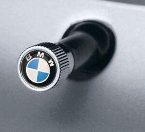 Tire Valve Stem Cap-Roundel Logo Valve Stem Caps BMW OEM 36110421544