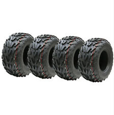 Four 16x8.00-7 quad tyres, 16 x 8-7 ATV  E marked road legal tyre 7 inch