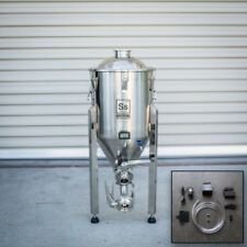 Conical Ss Brew Tech 7 Gallon BrewMaster Chronical w Heating & Chilling Package