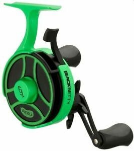13 Fishing Black Betty Free Fall FreeFall Radioactive Pickle RIGHT Hand Ice Reel