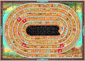 Heye - Degano, Historia Comica Opus 2 Puzzle 4000pc