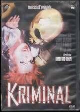 Kriminal DVD Lenzi Umberto / Glenn Saxon Sigillato 8024607004270