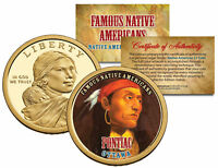PONTIAC *Famous Native Americans* 2013 Sacagawea Dollar US $1 Coin OTTAWA Indian