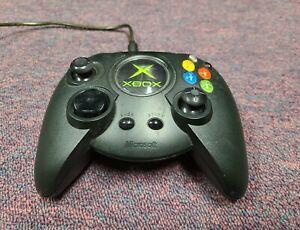 Original Microsoft Xbox Black Fat Duke Controller OEM XBOX