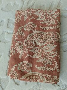 Pottery Barn Allesandra  Shower Curtain Floral