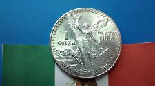 MONEDA DE PLATA PURA MEXICO LIBERTAD 1 ONZA DE PLATA 0.999/1000 AÑO 1986. S/C.