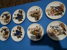 Norman Rockwell Decorative Plates Lot Of 4
