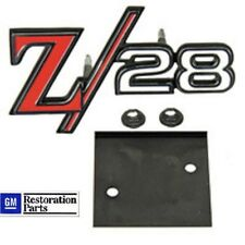 69  Z28 GRILLE EMBLEM & RETAINER  *GM Restoration Part*