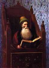 Jean Leon Gerome Mufti Reading In His Prayer Stool A4 Print