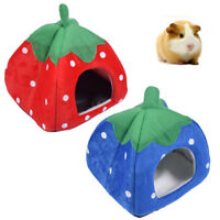 Lovely Hamster Hedgehog Bed Small Animal Cage Nest Mat Pet Sleeping House