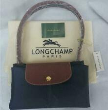 Longchamp Le Pliage Navy Blue nylon tote bag travel bag L