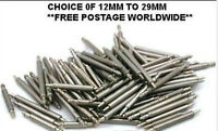 12 mm to 29 mm 100 pcs spring bars/pins /leather/rubber watch strap/band spare
