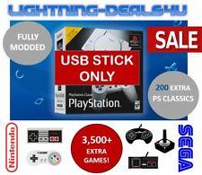 SALE USB Mod Hack 200+ Extra Games Sony Playstation Classic Mini PS1 + NES SNES