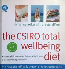 THE CSIRO TOTAL WELLBEING DIET by Peter Clifton, Dr Manny Noakes (2005) - Book