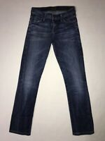 CITIZENS OF HUMANITY Women's SZ 25 AVA Low Rise Straight Leg Dark Wash