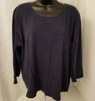 White Stag Womens Blue Shirt Top Blouse Size XL 16 18